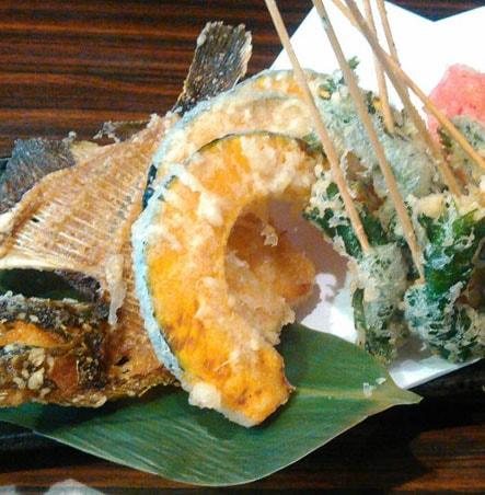 海鮮・魚料理専門店「魚小屋よしき」の料理イメージ「天ぷら1」