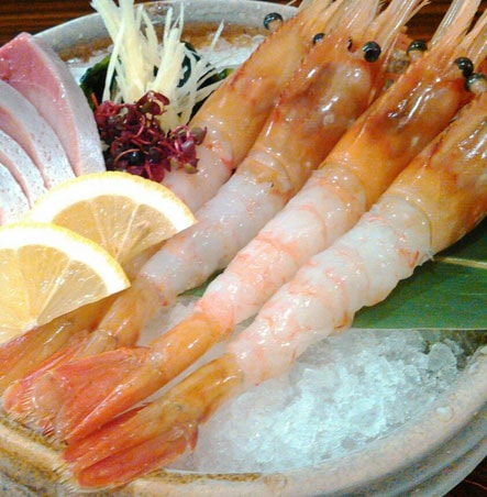 海鮮・魚料理専門店「魚小屋よしき」の料理イメージ「エビお造り」