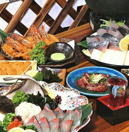 海鮮・魚料理専門店「魚小屋よしき」の料理イメージ「コース」